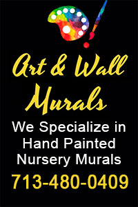 Art & Wall Murals - Hand painted murals for nursery or children rooms