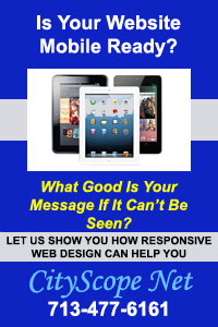 CityScope Net - Mobile Ready - Responsive Web Design - Custom Web Development