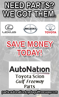 AutoNation Toyota Scion Gulf Freeway Parts