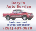 Daryl's Auto Service Indpendent Toyota Specialist